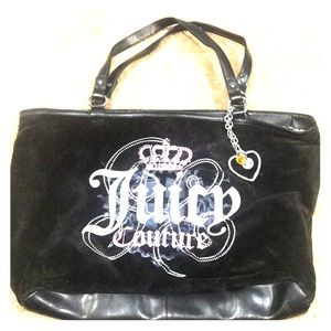 Juicy Couture: large black tote.